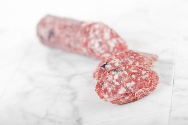 Salami with Wild Berries