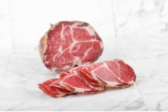 Smoked Coppa from Trentino...