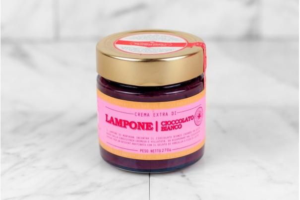Crema di Lampone e Cioccolato Bianco