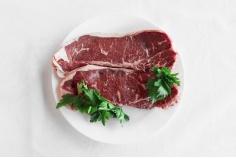 Sirloin beef steaks