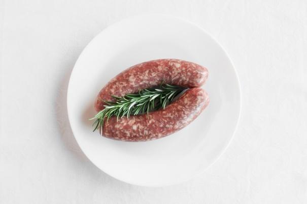 Lucanica sausages
