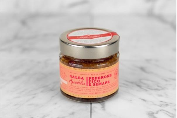 Salsa Agrodolce Peperone Fico e Senape
